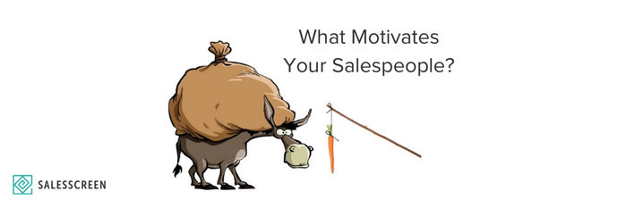 What Motivates Your Salespeople?