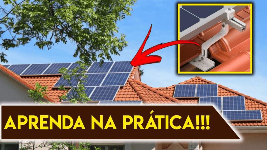 Como Instalar Painel Solar na telha colonial