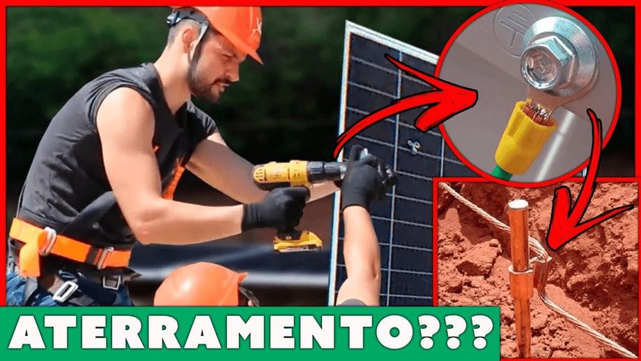 Eu devo aterrar meus Painéis Fotovoltaicos?
