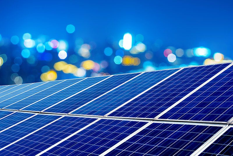 O que é energia solar fotovoltaica - Módulos fotovoltaicos