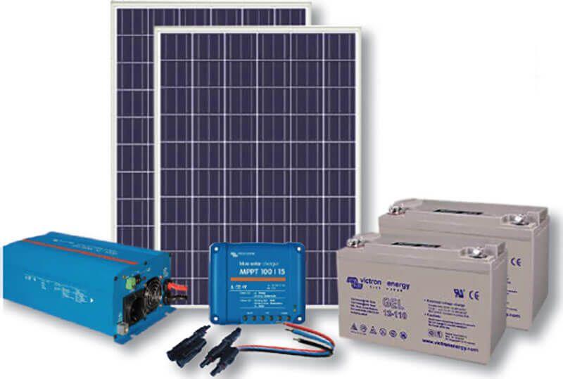 Fornecedores de kits fotovoltaicos para sistemas autônomos (Off-grid)