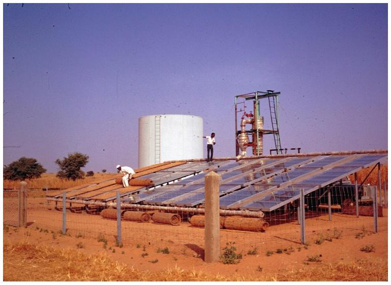 Bomba solar de 1970