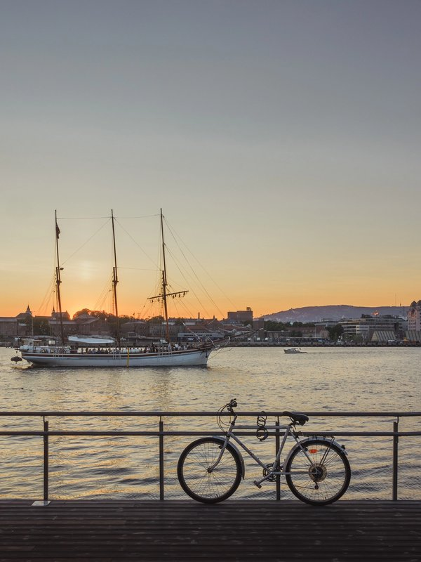 Oslofjord Sunset | Art Lasovsky
