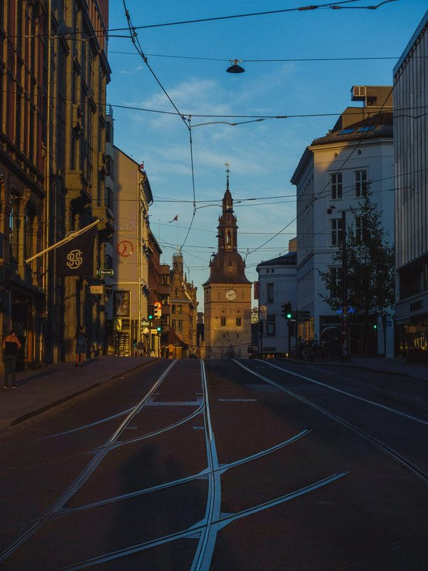 Lines of old city | Art Lasovsky