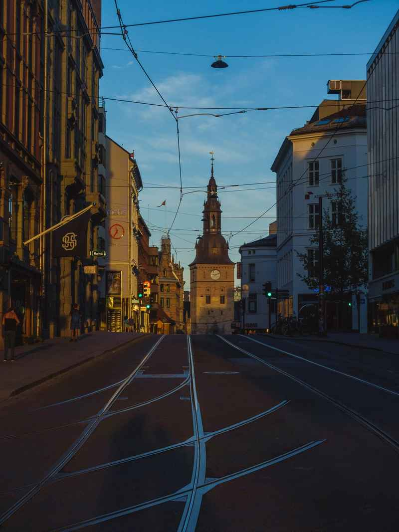 Lines of old city