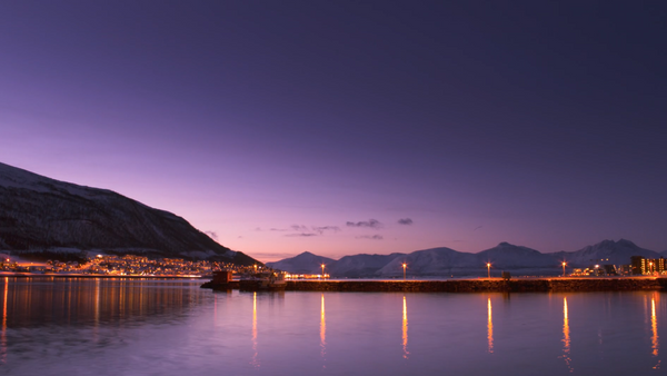 Norwegian Christmas (Tromsø. Sunrise) | Art Lasovsky