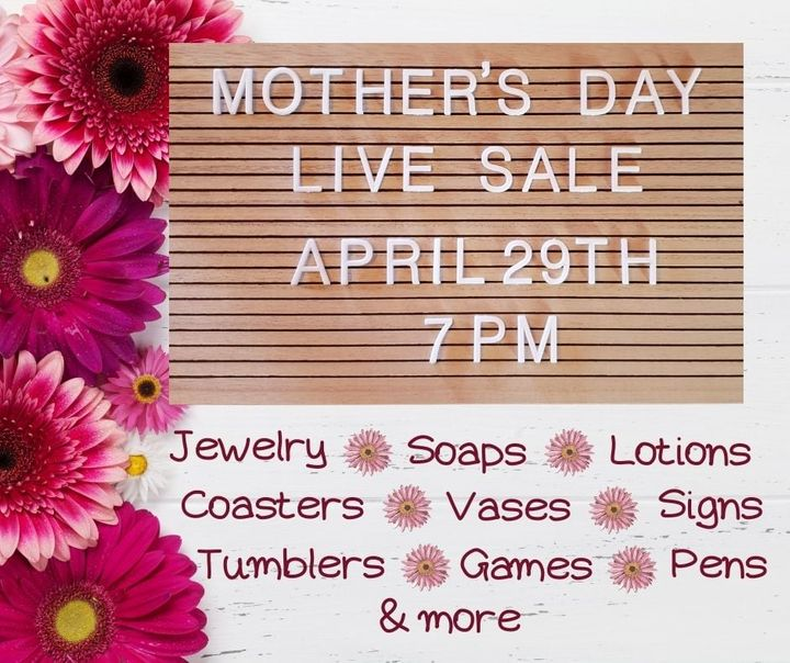 Virtual Live Craft Show (Sale) Hosted by Trinkets-n-Treasures