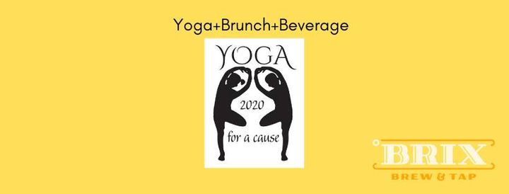 Yoga in the Park/Brunch/Beverage with Brix Brew & Tap and Tree of Life Yoga Studio