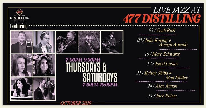 Live Jazz at 477 Distilling