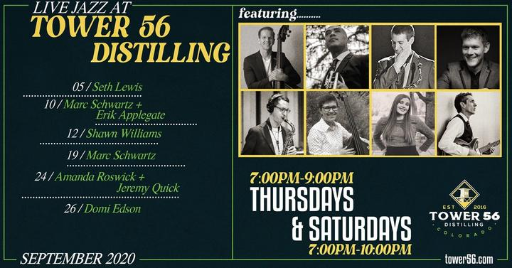 Jazz at Tower 56 Distilling - September 2020