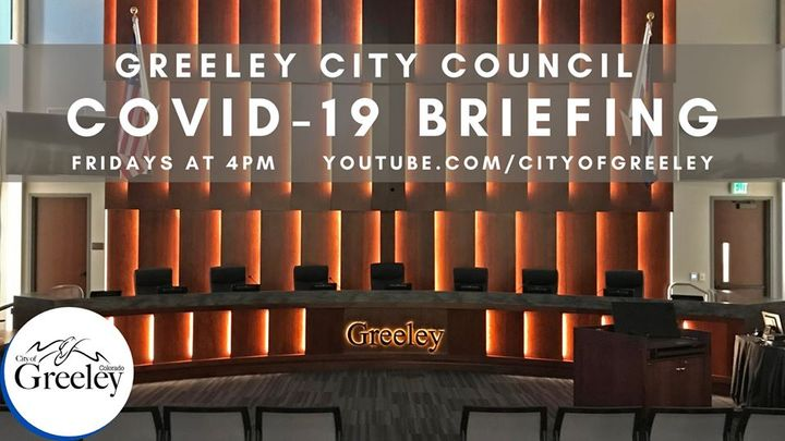 Greeley City Council COVID-19 Briefing