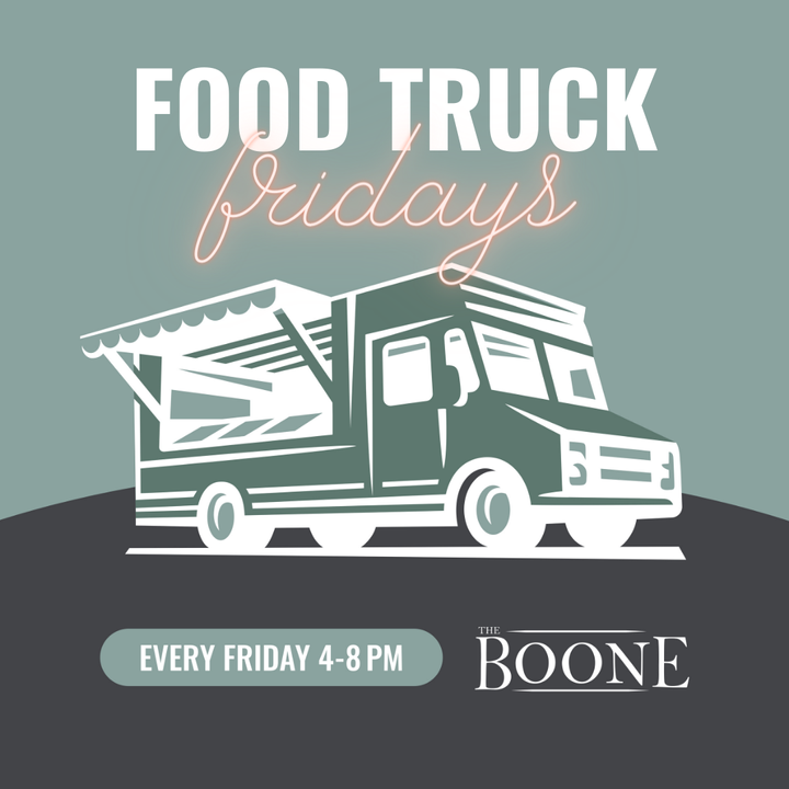 The Apartments at Maddie presents Food Truck Fridays at The Boone's Food Truck Court