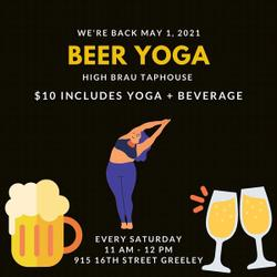Beer Yoga @ High Brau Taphouse