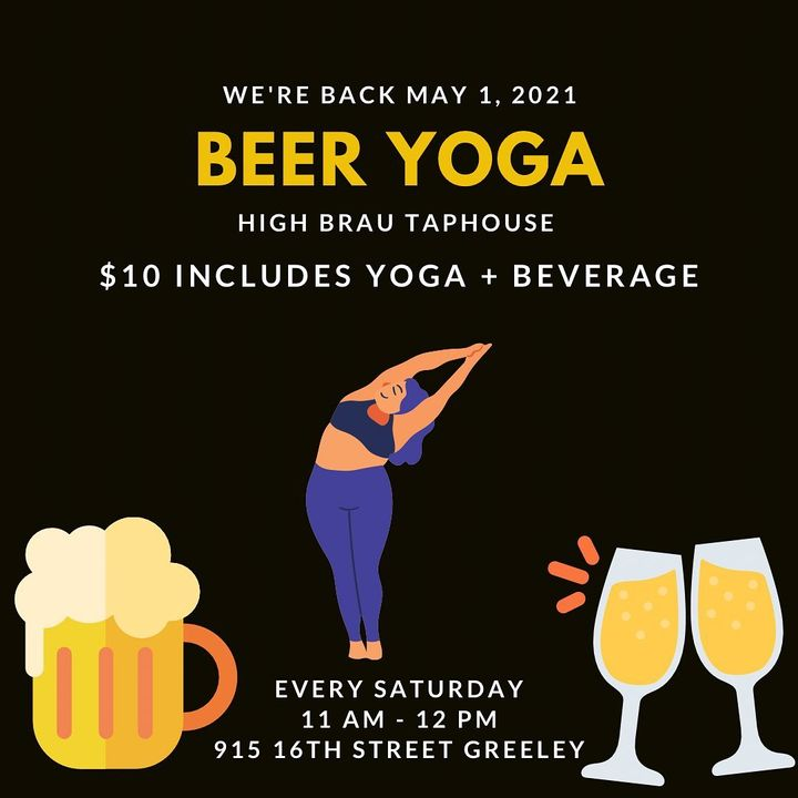 Beer Yoga @ High Brau Taphouse