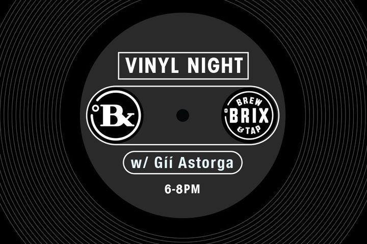 Vinyl Night at Brix Brew & Tap
