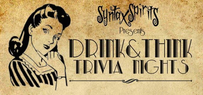 Quiz Night Returns! @ Syntax Spirits Distillery