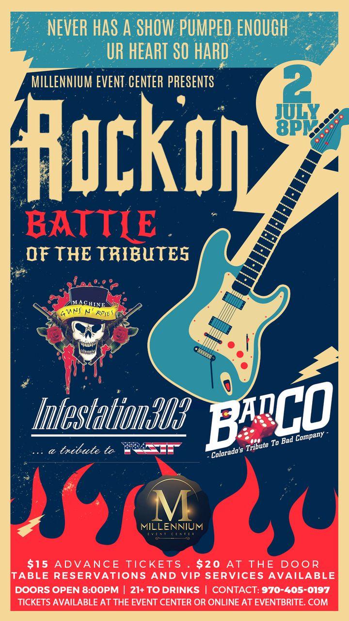 Rock'on - Battle Of The Tributes @ Millennium Event Center
