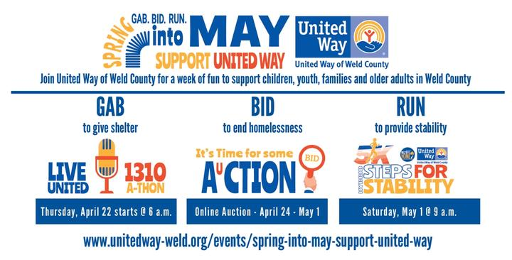 Spring Into May...Support United Way