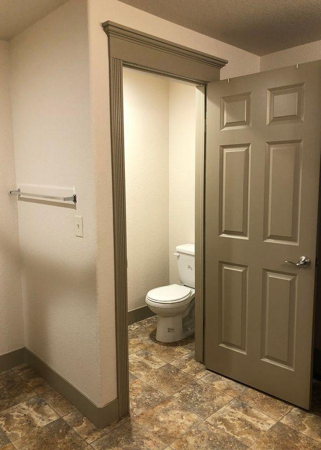 Main Bath Private Toilet