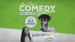 Moxi Theater Comedy Showcase with PJ Johnson and Salma Zaky