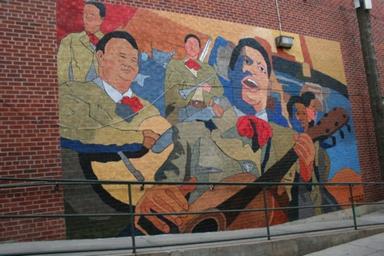 Mariachi Mural