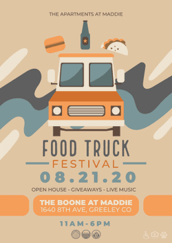 Apartments At Maddie Food Truck Festival & Open House