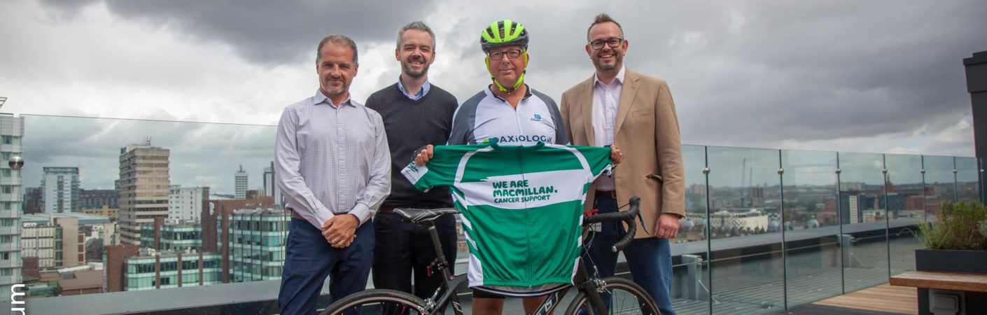 Axiologik are proud to have sponsored our friend, Bruce Talmage who completed The Deloitte Ride Across Britain in aid of MacMillan Cancer Support.