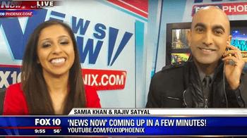 FOX10 Phoenix – Rajiv Satyal Appears on FOX10 Phoenix