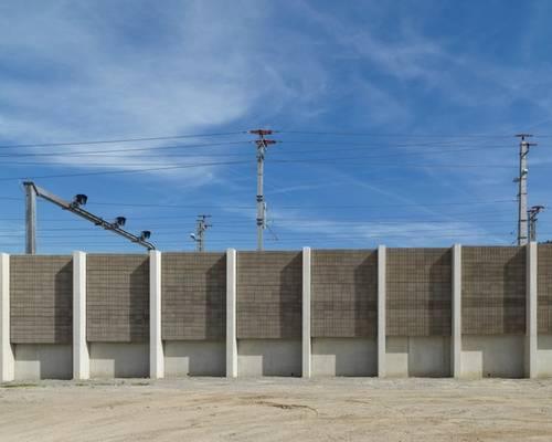 Brenner Basistunnel - Lärmschutzwand