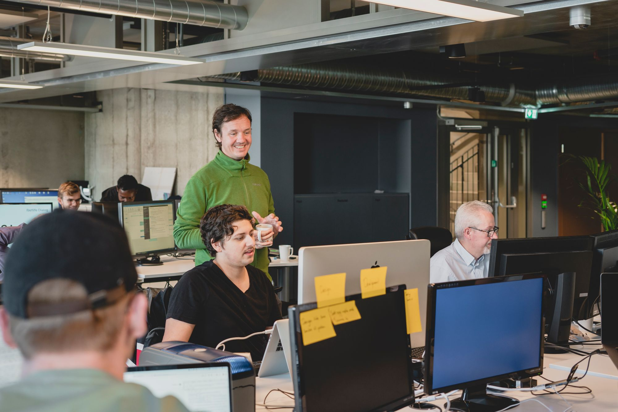 Folka som jobber i Netlife Dialog