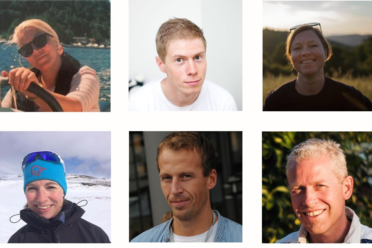 Eksempler på profilbilder som folk i Netlife bruker.