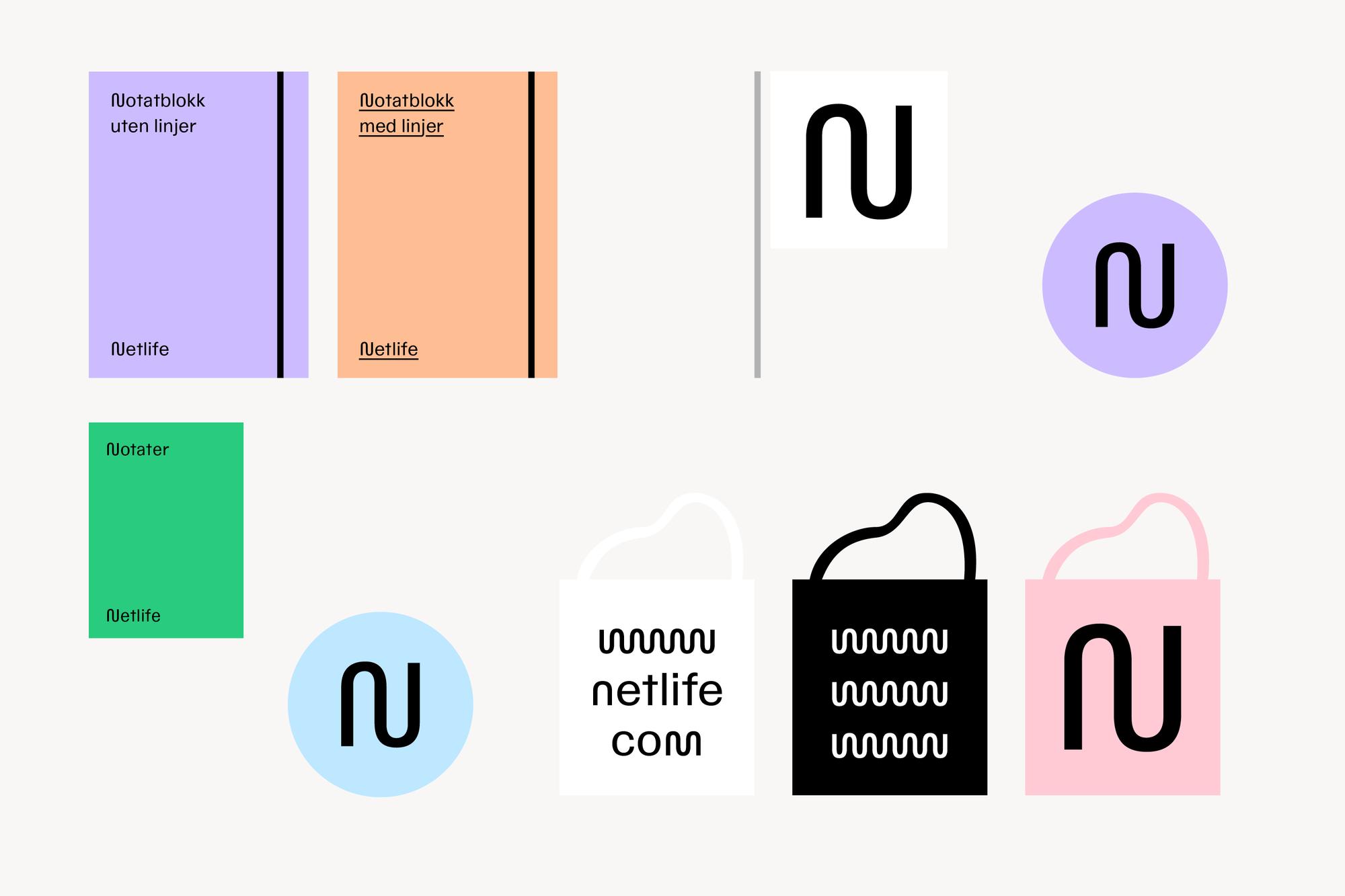 Fargebruk og logo