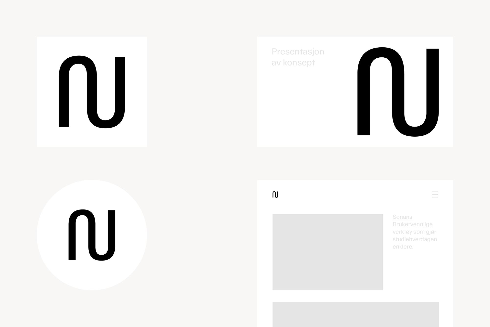 Logosymbolet N i bruk
