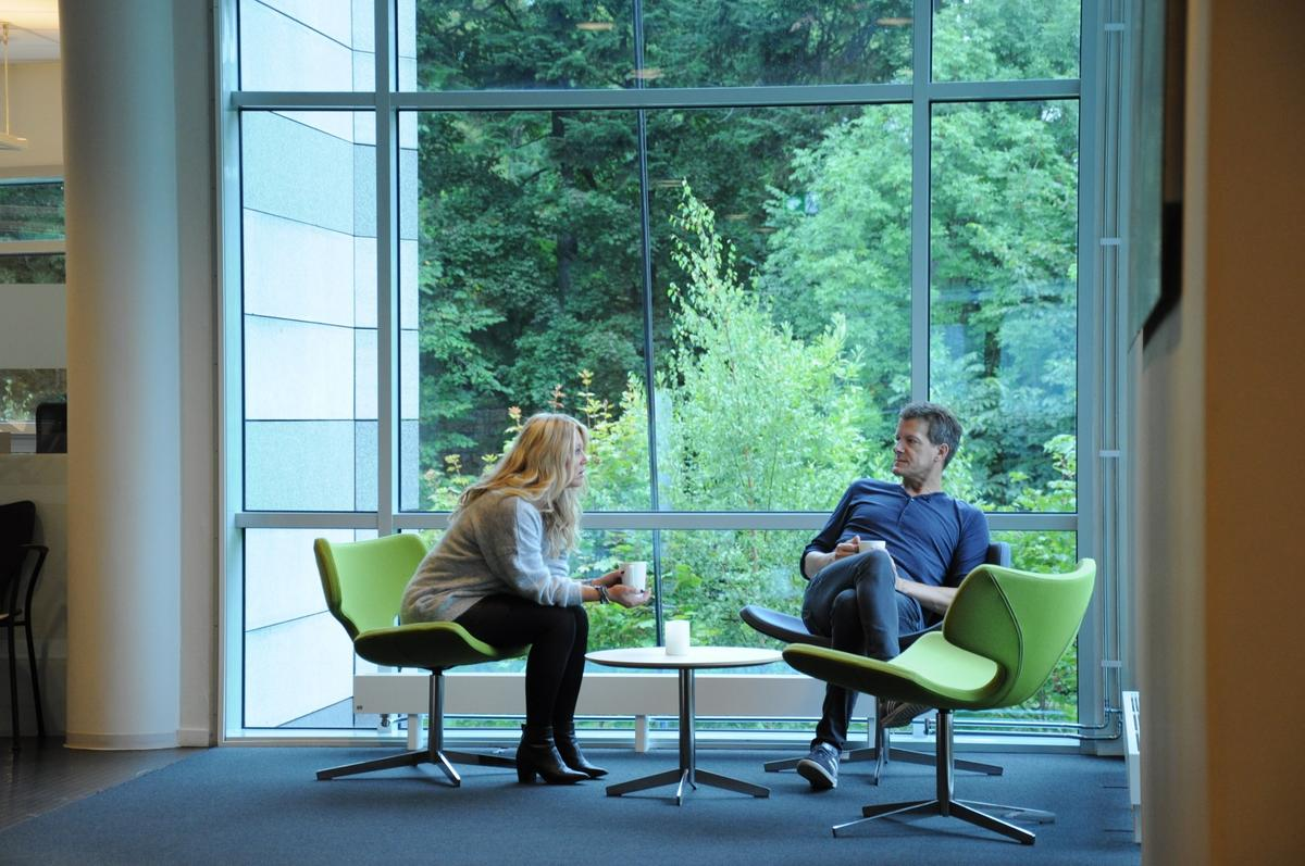 Bilde fra Netlife Dialog på Skøyen.
