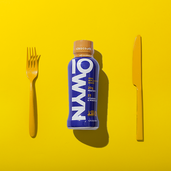 Fork & Knife are optional. Skipping a meal is not 👊.