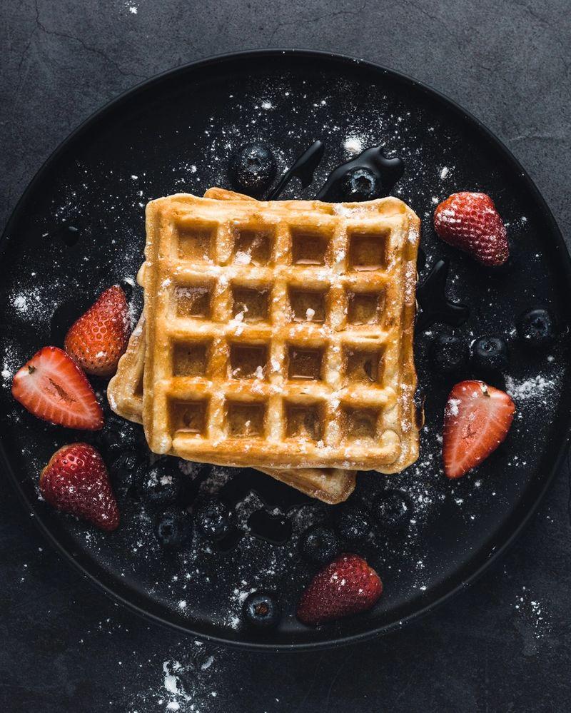 OWYN Chocolate Chip Protein Waffles