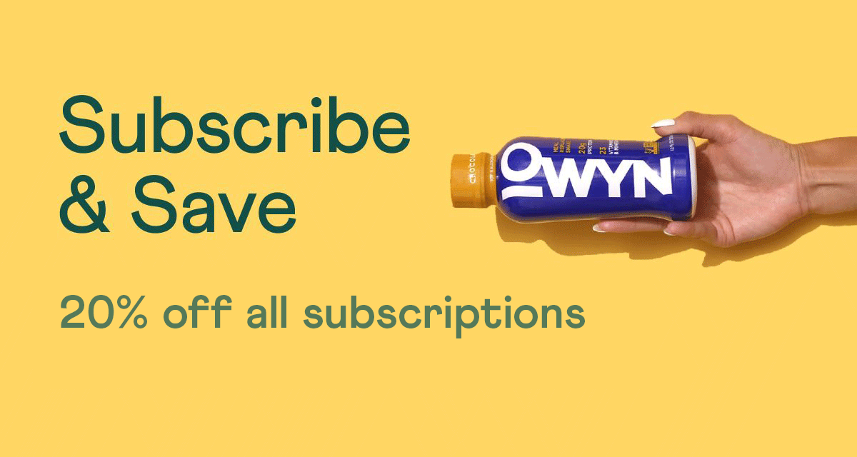 Subscribe and Save.