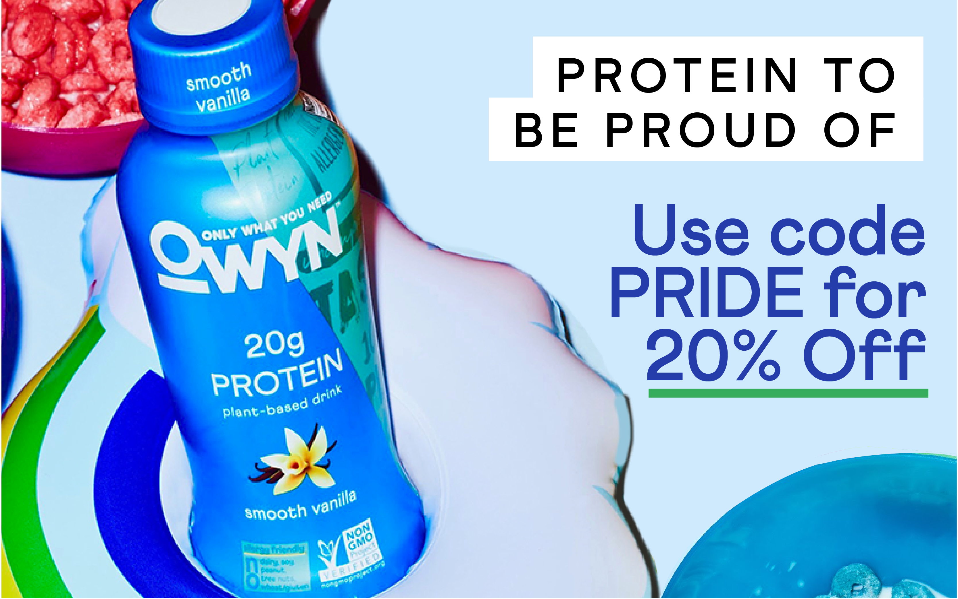 Protein to be Proud of - 20% Off