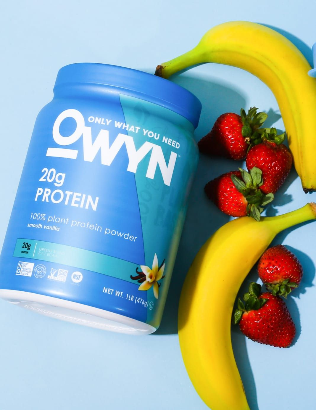 OWYN Smooth Vanilla Protein Powder with Fruits
