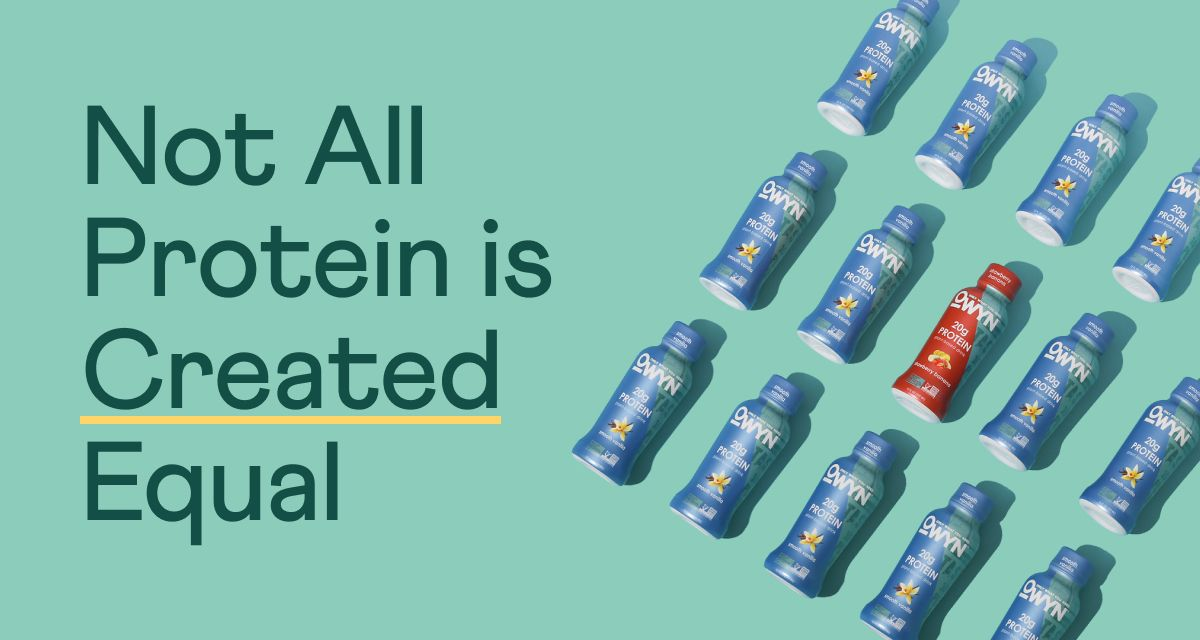 Not All Protein is Created Equal.
