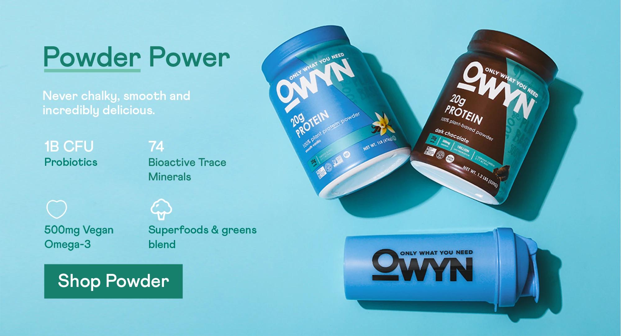 Powder power