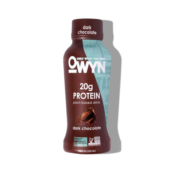 OWYN Dark Chocolate Protein Shake Bottle