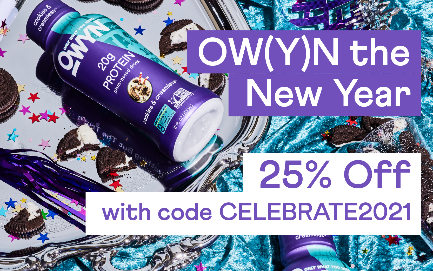 OW(Y)N the New Year - 25% Off