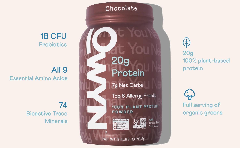 OWYN Chocolate Protein Powder - Medium