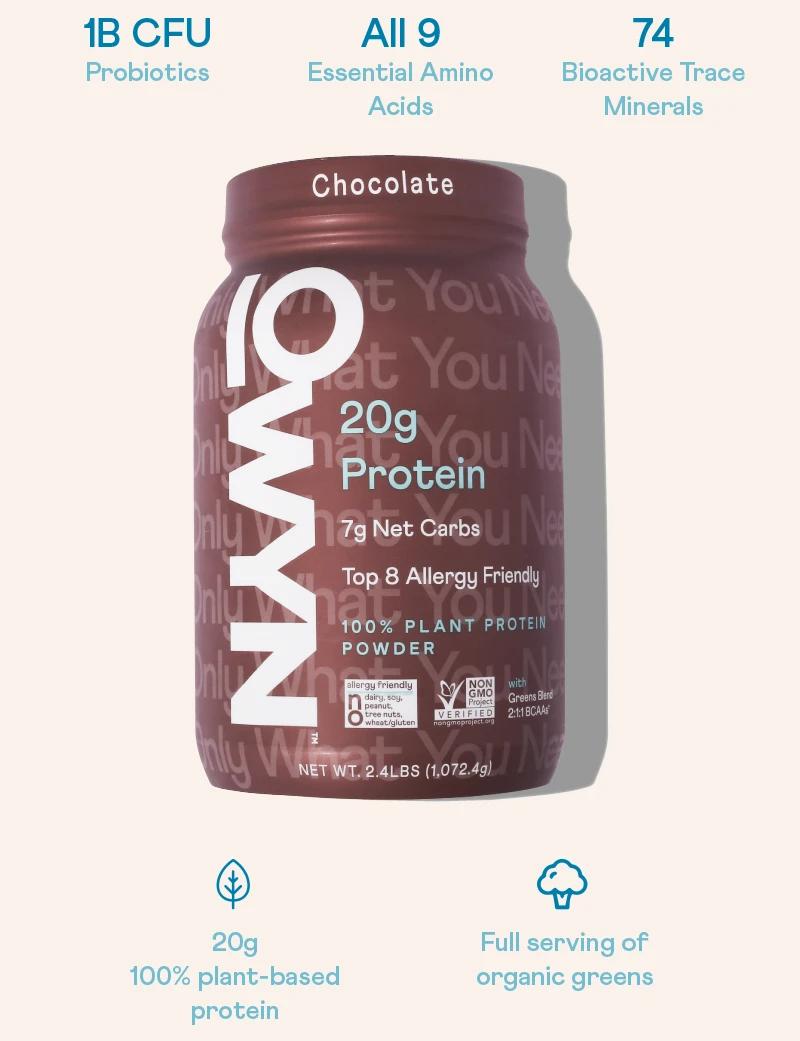 OWYN Chocolate Protein Powder - Small