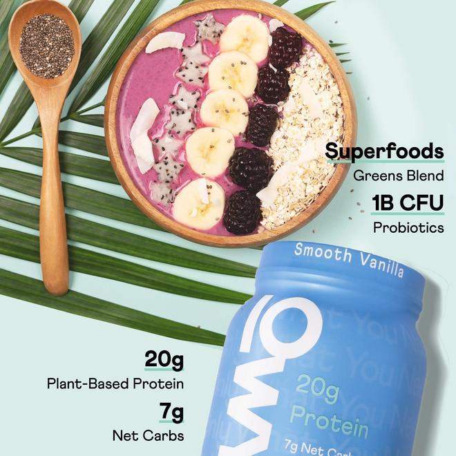 OWYN 2lb Smooth Vanilla Protein Powder Features