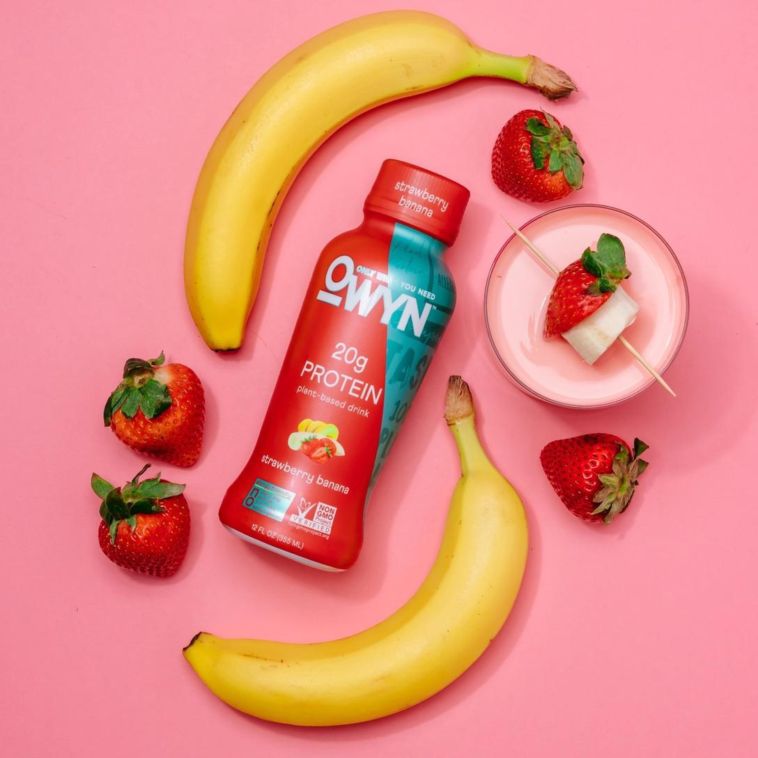 OWYN Berry Glow Smoothie