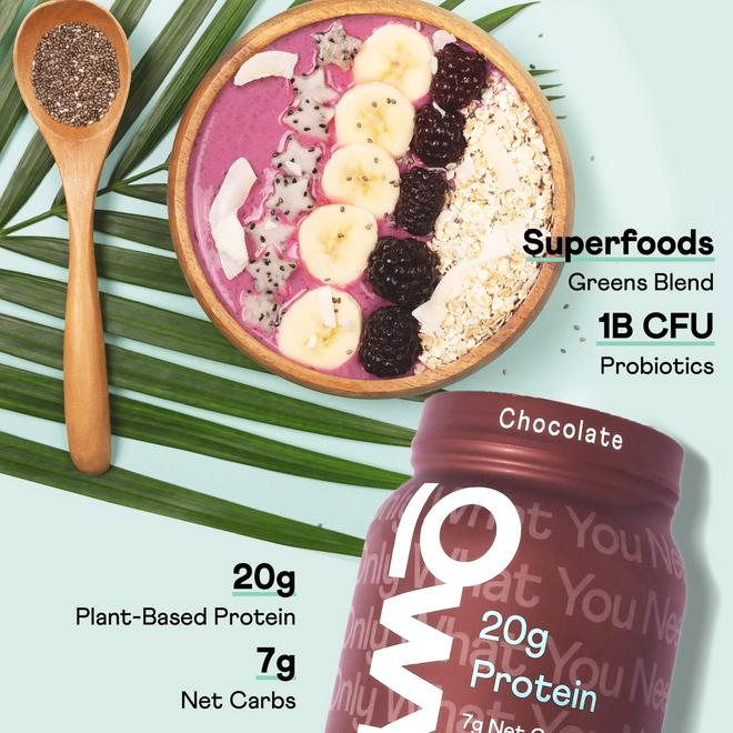OWYN 2lb Chocolate Protein Powder Features