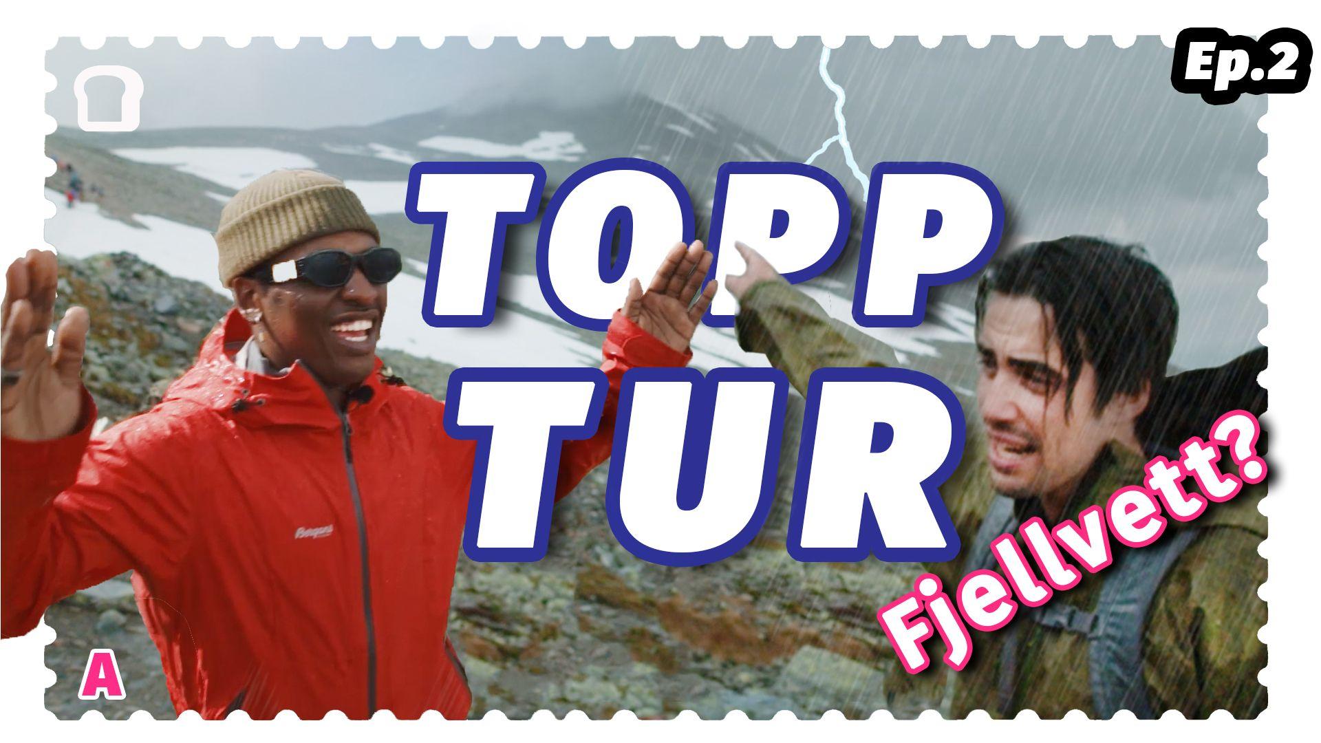 I seriens andre episode tar Emil og Morten med Safari på topptur. Her får han utfordret seg i nordmenns kanskje største lidenskap, og et innblikk i hvorfor vi drar til fjells. Han får blant annet brynet seg på værskifte, melkesyre og usedvanlig hyggelige turentusiaster – i tillegg til å lære seg hvordan man hilser på fjells.