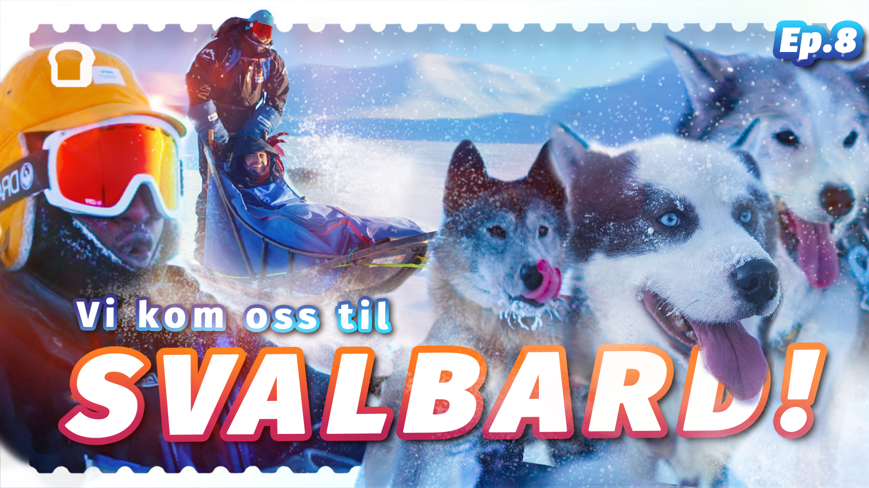 Målet er nådd – bassene reiser til Svalbard! Første stopp er verdens nordligste bensinstasjon, der Safari prøver å nyte en wienerpølse. Deretter skal de ut på ekspedisjon med hundespann i 26 kuldegrader, som byr på en rekke utfordringer.